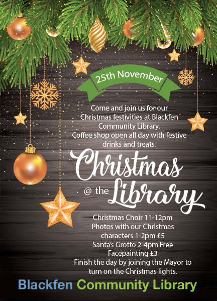 christmas comes to blackfen sat 25th nov - Why Is Christmas On The 25th