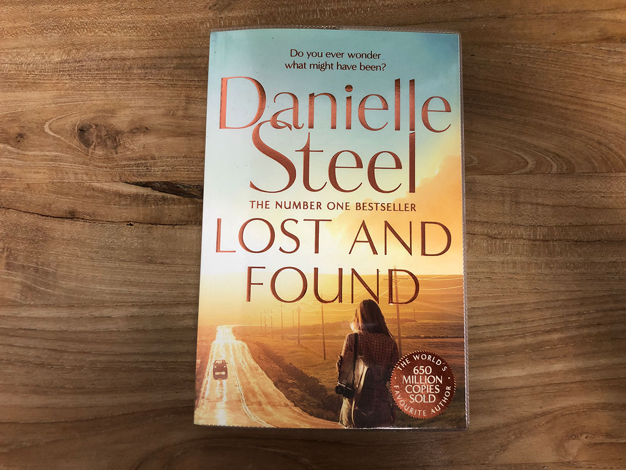 Book cover by Danielle Steel Lost and Found