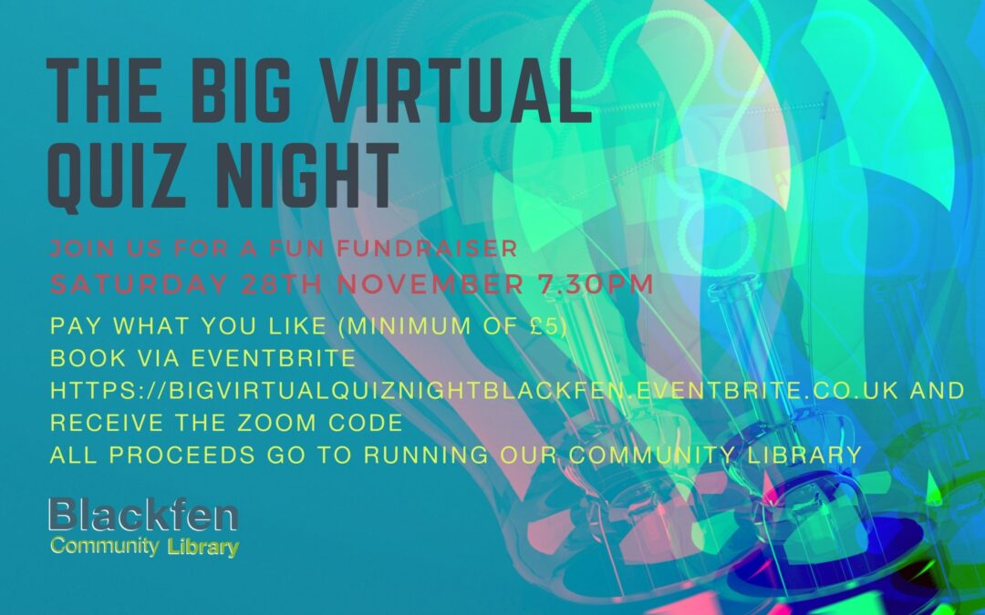 Picture of poster The Big Virtual Quiz night