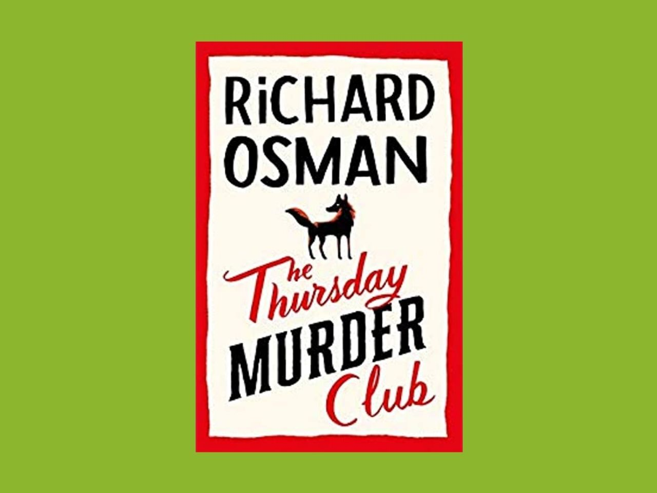 Picture of book richard Osman The Thursday Murder Club