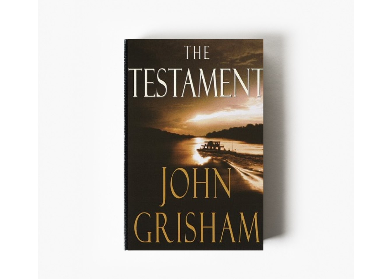 book cover The Testament John Grisham