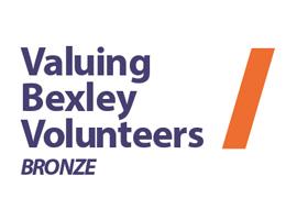 Valuing Bexley Volunteers Bronze logo