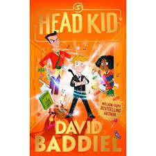Orange book cover for David Baddie'ls Head Kidid