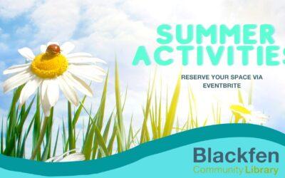 Summer Activities 2021