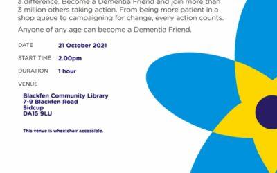 Dementia Friends Workshop